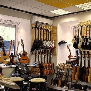 Музыкальные магазины Приволжья